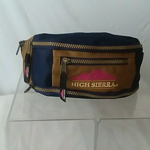 High Sierra Fanny Pack Cloth Two Tone